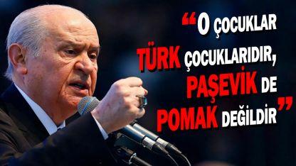 Bahçeli'den Miçotakis'e tepki: O çocuklar Türk çocuklarıdır, Paşevik de Pomak değildir