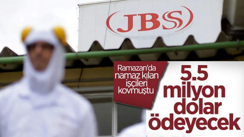 JBS, işten çıkardığı Müslüman çalışanlarına 5.5 milyon dolar ödeyecek