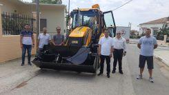 Yassıköy Belediyesi'ne yeni ekskavatör-JCB makinesi
