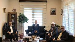 Başkonsolos Murat Ömeroğlu'nu ziyaret ettiler
