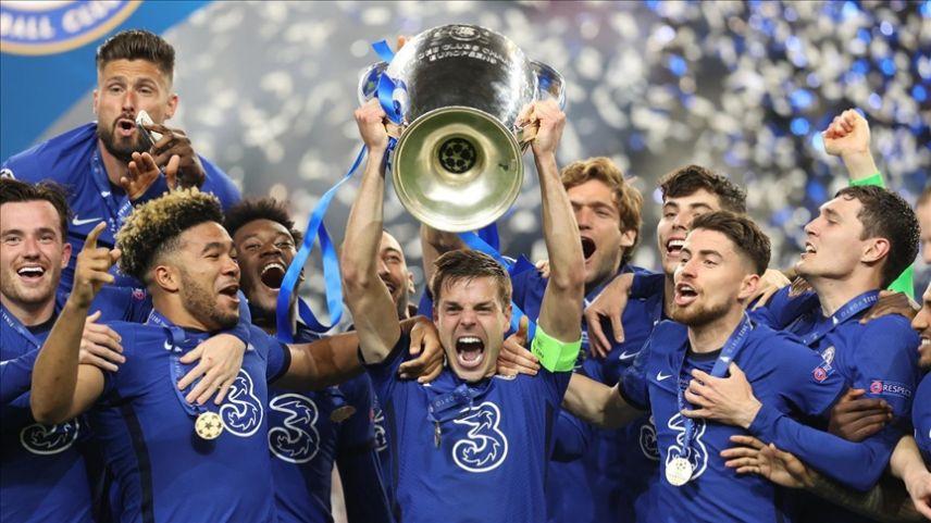 UEFA Şampiyonlar Ligi'nde şampiyon Chelsea