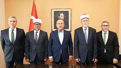 T.C. Dışişleri Bakanı Mevlüt Çavuşoğlu Batı Trakya'da