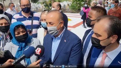 VİDEO - Türkiye Dışişleri Bakanı Mevlüt Çavuşoğlu Batı Trakya temaslarını değerlendirdi