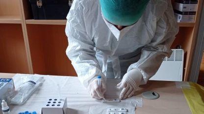 Gümülcine'de toplu rapid testler yeniden başladı