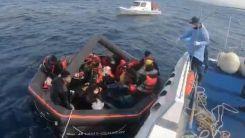 Yunanistan'dan Türkiye'ye geri itilen 3 bin 763 sığınmacı kurtarıldı