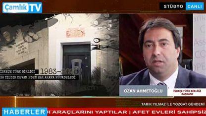 İskeçe Türk  Birliği Başkanı Ozan Ahmetoğlu Batı Trakya Türklerinin sorunlarını anlattı