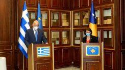 Dendias, Kosovalı mevkidaşı ile görüştü