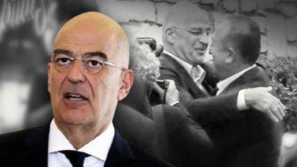 Dendias, Çavuşoğlu ile kucaklaşmasını anlattı