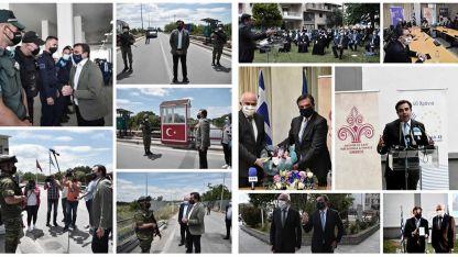 AB Komisyonu Başkan Yardımcısı Shinas,  Batı Trakya'yı ziyaret etti