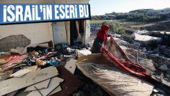 Filistinliler harabeye dönen evlerine geri döndü