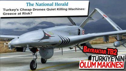 Yunan basınında Bayraktar TB2 endişesi