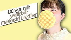 Japonya'da yenilebilir maske üretildi