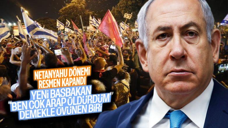 İsrail'de Netanyahu dönemi kapandı