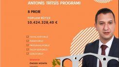 """Yassıköy Belediyesi'nden """"Antonis Tritsis"""" programına 8 proje"""
