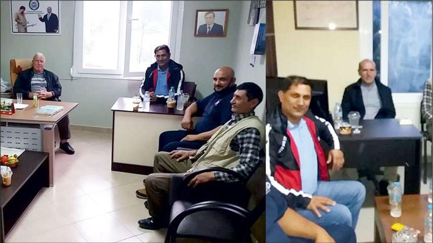 Dimetokalı soydaşlar DEB Partisi Büyük Derbent bürosunu ziyaret etti