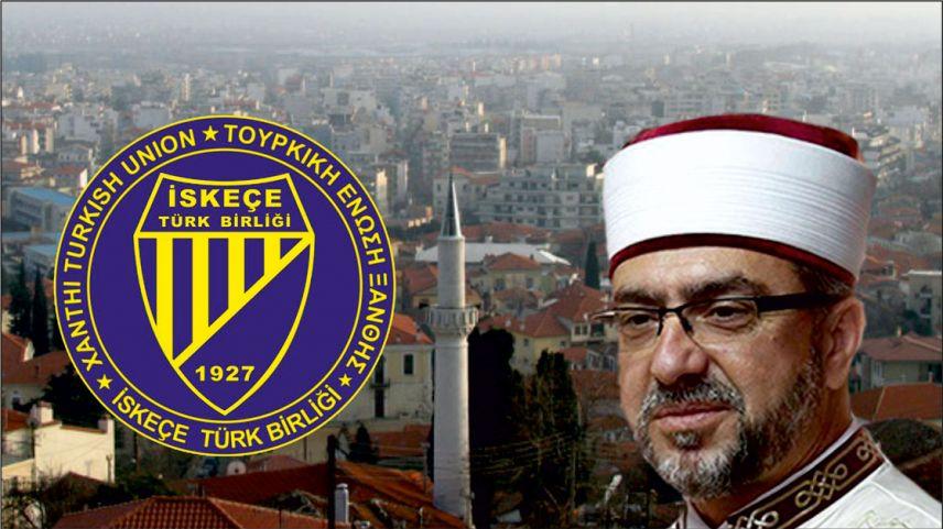 İskeçe Türk Birliği'nden Müftü Mete'ye verilen 15 ay hapis cezasına tepki