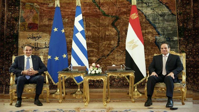 Başbakan Miçotakis'ten Mısır'a ziyaret