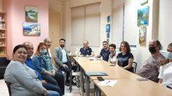 Syriza Rodop İl Örgütü'nden Eczacılar Odası'na ziyaret