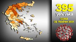 Yunanistan'da koronavirüs salgınında son 24 saat
