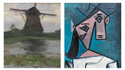 Yunanistan'da çalınan Picasso ve Mondrian tabloları 9 yıl sonra bulundu
