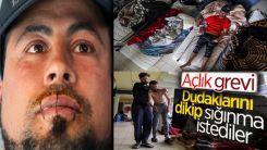 Belçika'da belgesiz göçmenler açlık grevinde