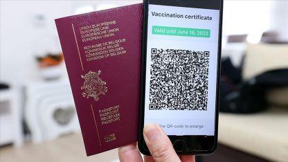 AB'nin Kovid-19 aşı sertifikası yürürlüğe girdi