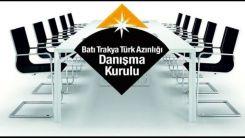 Batı Trakya Türk Azınlığı Danışma Kurulu'ndan Yunan adaletine tepki