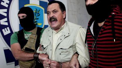 Altın Şafak Partisinin kaçak yöneticilerinden Pappas Atina'da yakalandı