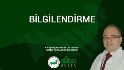 Batı Trakya Türkleri Dayanışma Derneği Bursa Şubesinden açıklama