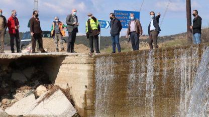 Menetler'deki geçidin onarımı için 500 bin euro