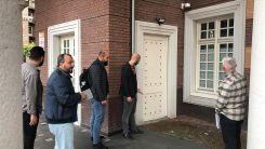 Hollanda'da Amsterdam Ayasofya Camisi'ne saldırı