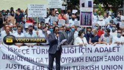 İskeçe Türk Birliği'nin düzenlediği eylemin tamamı