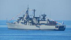 Yunanistan'a ait savaş gemisi Karadeniz'de Rusya tarafından takibe alındı