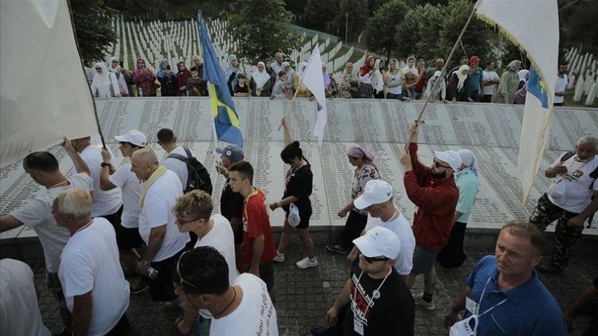 Bosna'da ölüm yolunda 'Barış Yürüyüşü' sona erdi