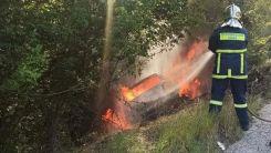 İskeçe'de facia: Genç soydaşımız yanarak can verdi