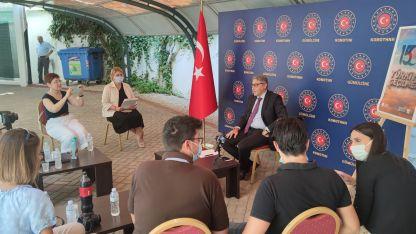 """Başkonsolos Ömeroğlu'ndan """"15 Temmuz"""" hakkında açıklamalar"""