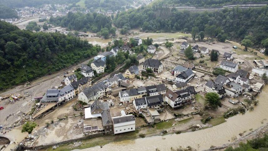 Almanya'da sel felaketinde ölenlerin sayısı 141'e yükseldi