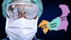Batı Trakya bölgesinde üç ilde de yeni vaka tespit edildi