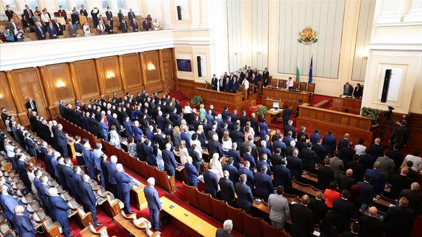 Bulgaristan'ın yeni parlamentosu ilk oturumunu yaptı