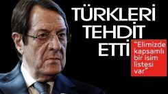 Anastasiadis'ten Kıbrıslı Türklere pasaport tehdidi