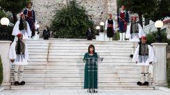 """Cumhurbaşkanı Sakellaropoulou kızdı: """"Türkiye'nin açıklaması kabul edilemez"""""""