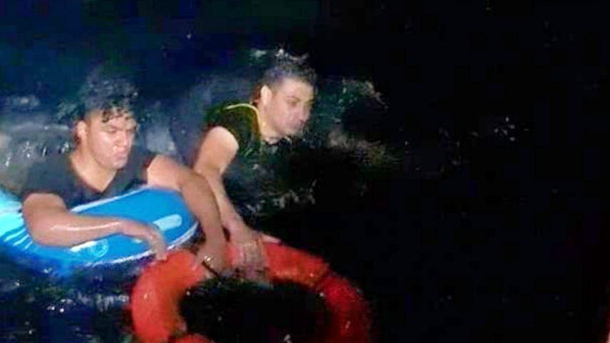 Deniz yatağıyla gece karanlığında Yunanistan'a geçmeye çalıştılar