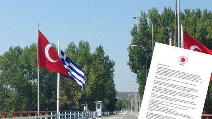 Yunanistan Türkiye vatandaşlarına giriş yasağını uzattı