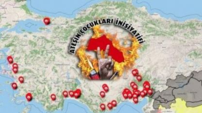 Türkiye'deki orman yangınlarını terör örgütü PKK üstlendi