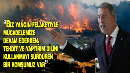 Akar'dan Yunanistan'a tepki!