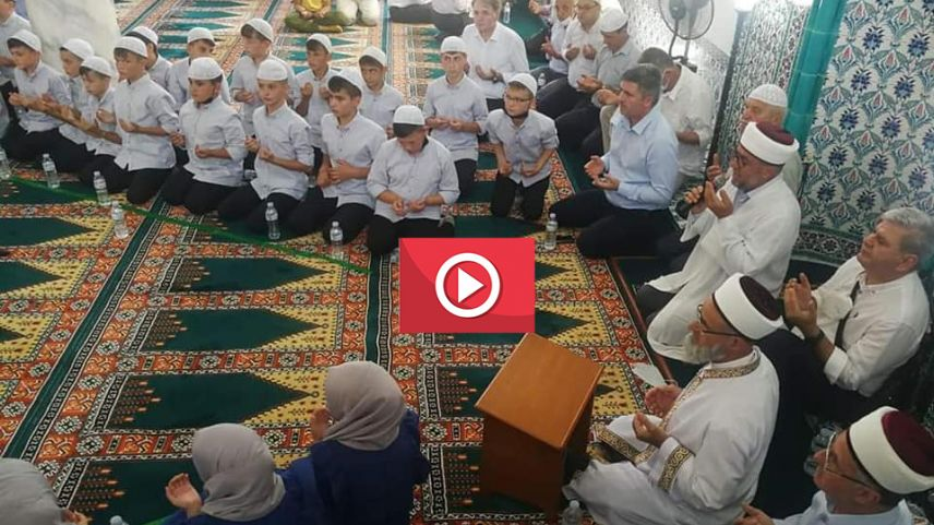 Video | Demircik köyünde hatim merasimi