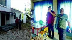 Milletvekili Baran astronomik ceza gönderilen Küçük Davutlu Camii'ni ziyaret etti