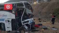 Türkiye'de yolcu otobüsü devrildi: 14 ölü, 18 yaralı