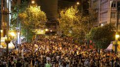 Orman yangınlarındaki başarısızlık Atina'da protesto edildi