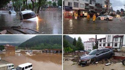 Türkiye'deki sel felaketinde 17 kişi hayatını kaybetti